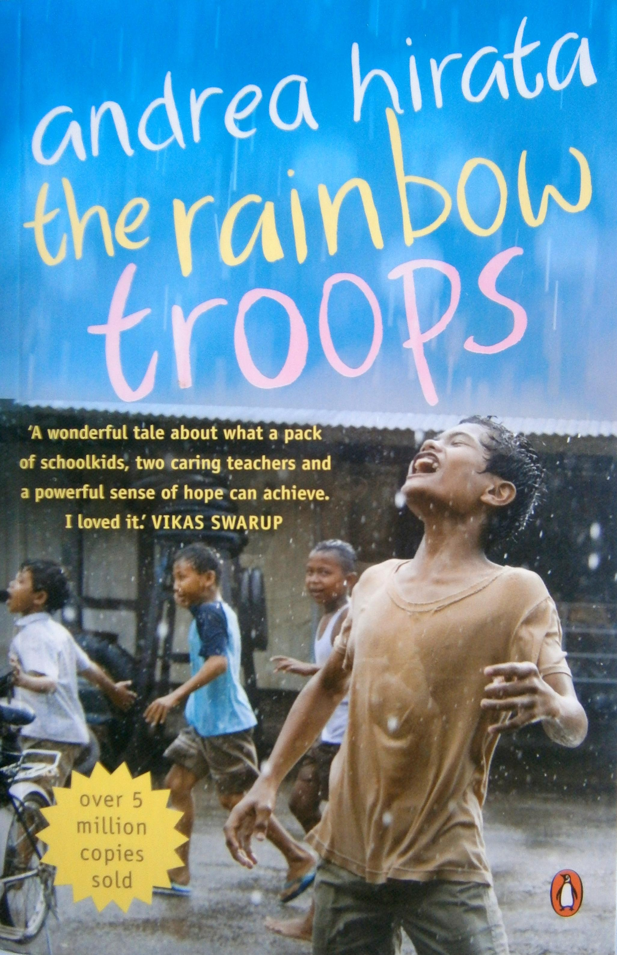 Cover Novel The Rainbow Troops Penguin edition